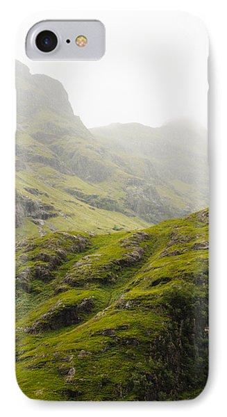 Foggy Highlands Morning IPhone Case by Christi Kraft
