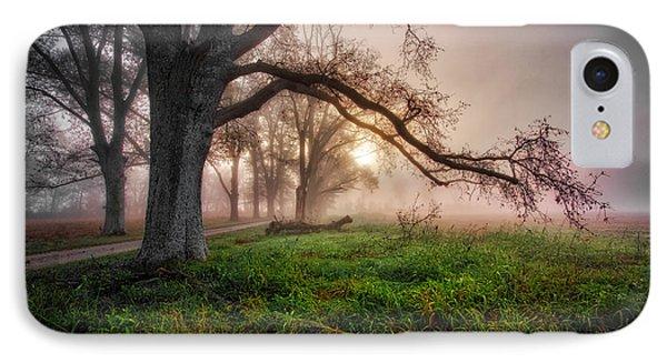 Foggy Kentucky Sunrise IPhone Case