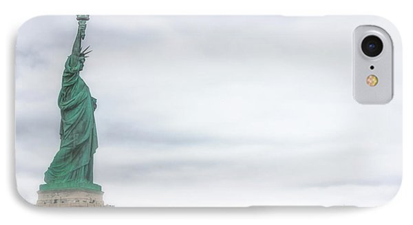 Foggy Liberty IPhone Case by Martin Newman