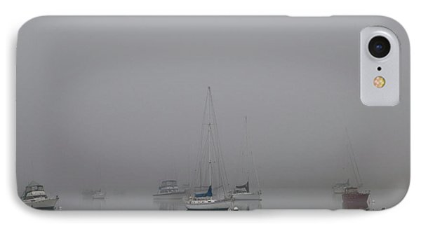 Waiting Out The Fog IPhone 7 Case by David Chandler