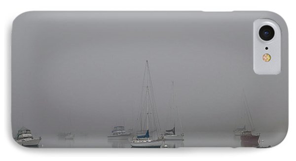 IPhone 7 Case featuring the photograph Waiting Out The Fog by David Chandler