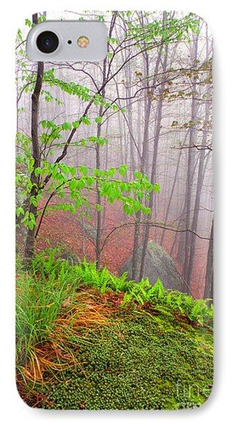 Foggy Misty Spring Morning Phone Case by Thomas R Fletcher