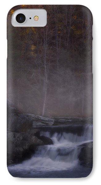 IPhone Case featuring the photograph Foggy Morning At Linville Falls by Ellen Heaverlo