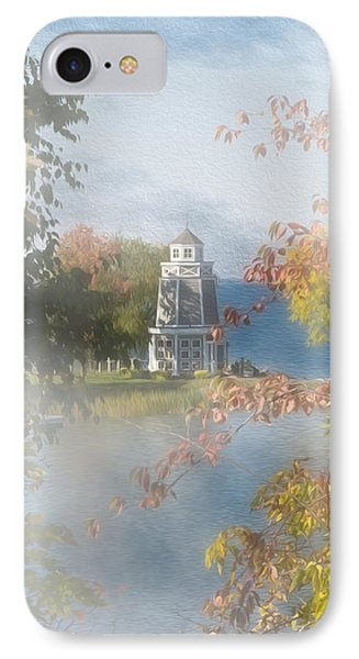 Foggy Morning At The Lake IPhone Case by John M Bailey