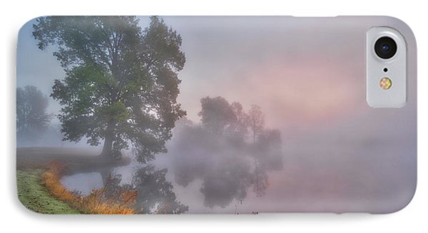Foggy Morning At The Summit IPhone Case