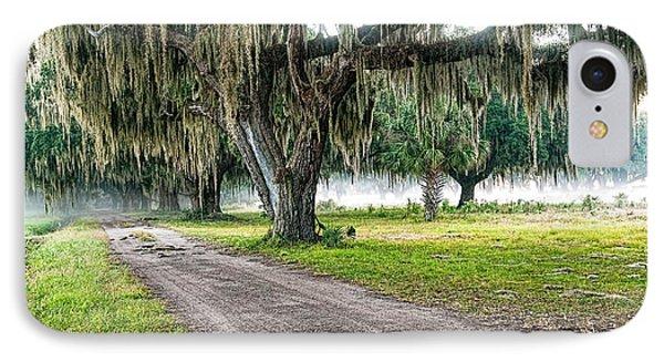 Foggy Morning - Coosaw Plantation IPhone Case by Scott Hansen