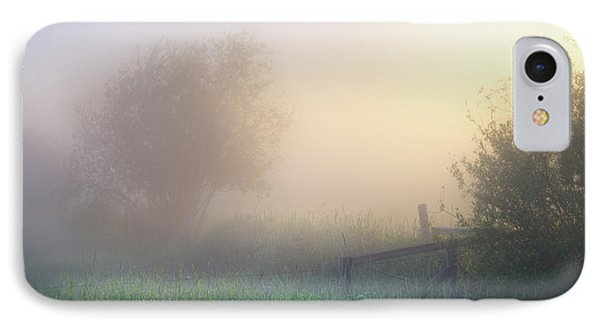 IPhone Case featuring the photograph Foggy Morning by Dan Jurak