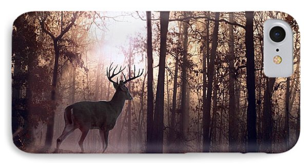 Foggy Morning In Missouri Phone Case by Bill Stephens