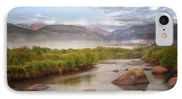 Foggy Morning In Moraine Park IPhone Case
