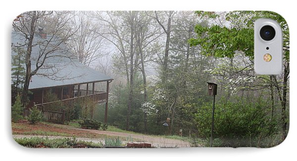 Foggy Morning In The Mountains IPhone Case by Marilyn Carlyle Greiner