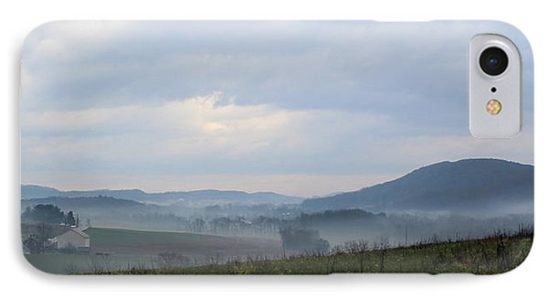 Foggy Morning In The Valley Phone Case by Liz Allyn
