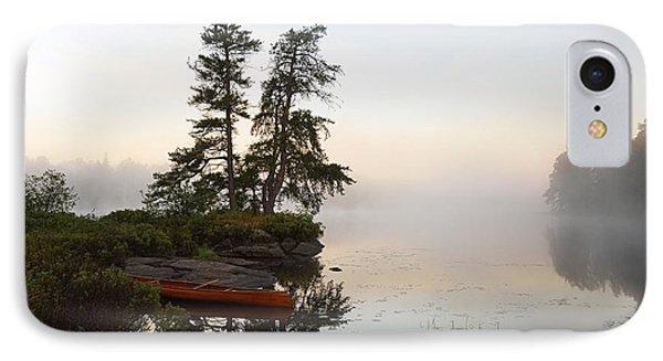 Foggy Morning On The Kawishiwi River IPhone Case