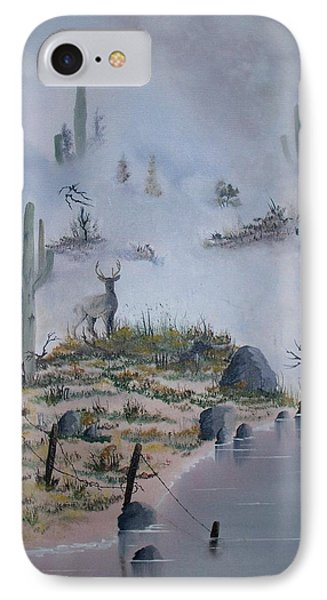 Foggy Morning Phone Case by Patrick Trotter