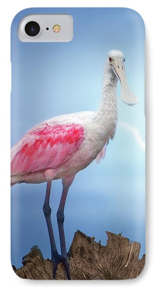 Foggy Morning Spoonbill IPhone 7 Case