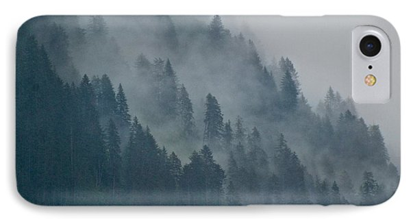 Foggy Mountain Ridge IPhone Case by Eric Tressler