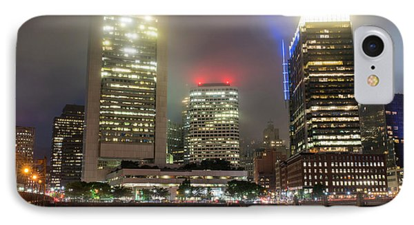 Foggy Night In Boston Ma IPhone Case by Toby McGuire