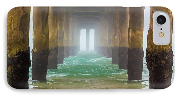 Coastal Fog IPhone Case by April Reppucci