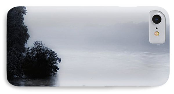 Foggy River Phone Case by Bill Cannon