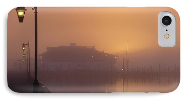 Foggy Sunrise IPhone Case by Robert Henne