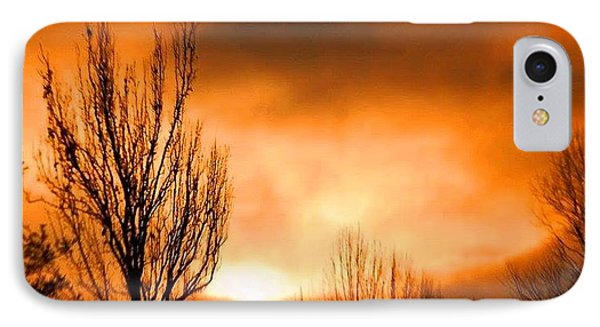 Foggy Sunrise IPhone Case by Sumoflam Photography