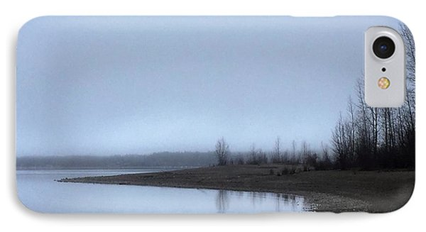 IPhone Case featuring the photograph Foggy Water by Victor K