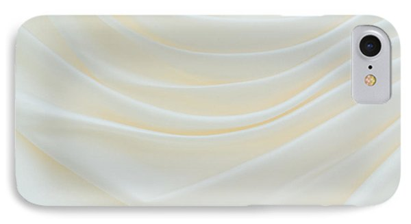 Folded Fabric Waves Phone Case by Meirion Matthias
