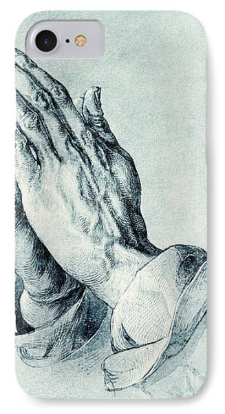 Folded Hands Of An Apostle IPhone Case by Albrecht Durer