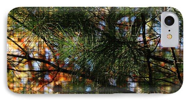 Foliage Tilework IPhone Case by Margie Avellino