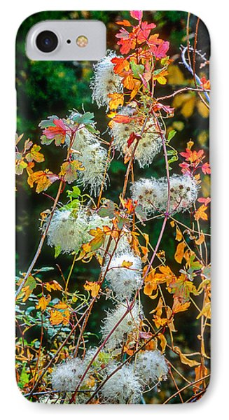Foliage Twisted Colored Leaves IPhone Case
