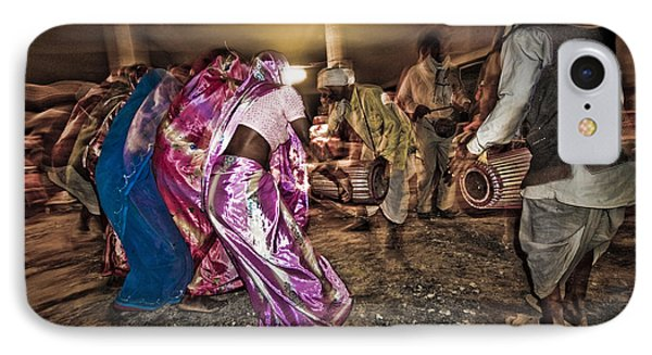 Folk Dance IPhone Case by Hitendra SINKAR