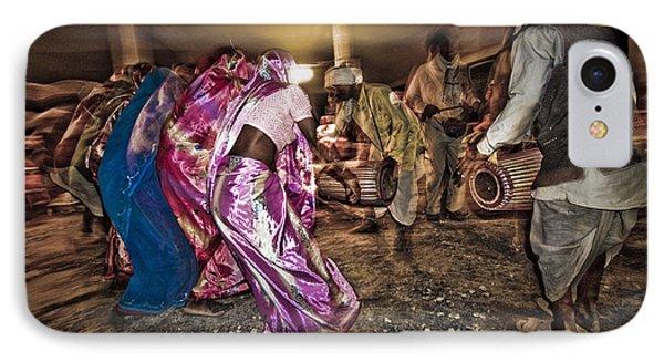 Folk Dance IPhone 7 Case by Hitendra SINKAR