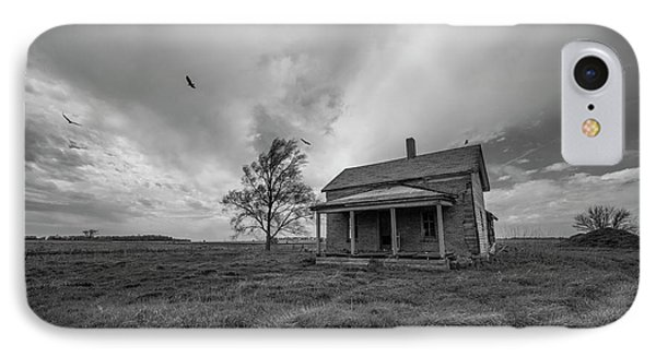 Buzzard iPhone 7 Case - Follow The Buzzards by Aaron J Groen