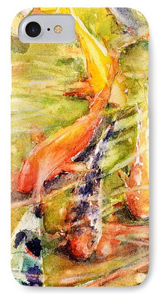 Follow The Leader IPhone Case by Judith Levins