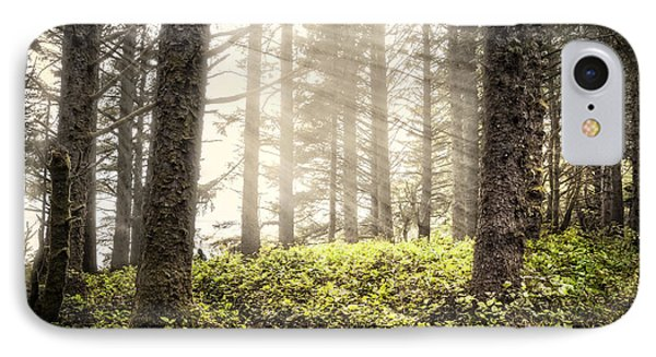 Follow The Light IPhone Case by Debra and Dave Vanderlaan