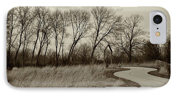 IPhone Case featuring the photograph Follow The Path by Elvira Butler