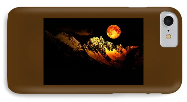 Follow Your Inner Moonlight IPhone Case by Michele Cornelius