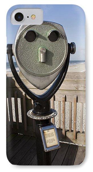 Folly Beach Pay Binoculars IPhone Case by Dustin K Ryan