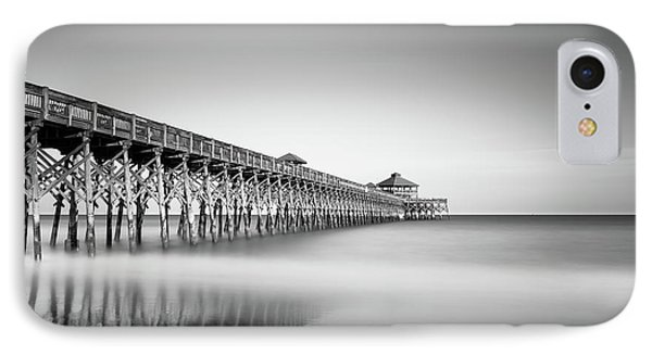 Folly Beach Pier IPhone Case by Ivo Kerssemakers