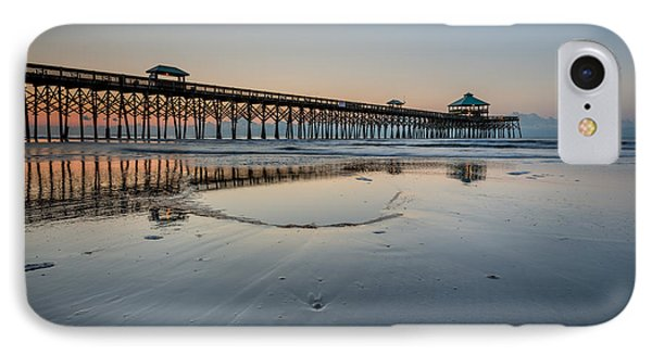 Folly Beach South Carolina Pier IPhone Case
