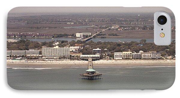 Folly Beach South Carolina IPhone Case by Dustin K Ryan