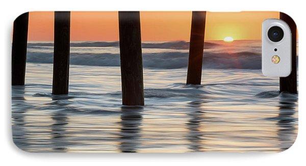 Folly Beach Sunrise Charleston South Carolina Phone Case by Mark VanDyke