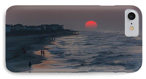Folly Beach Sunrise IPhone Case