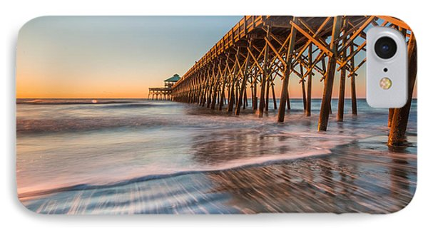 Folly Pier IPhone Case by RC Pics