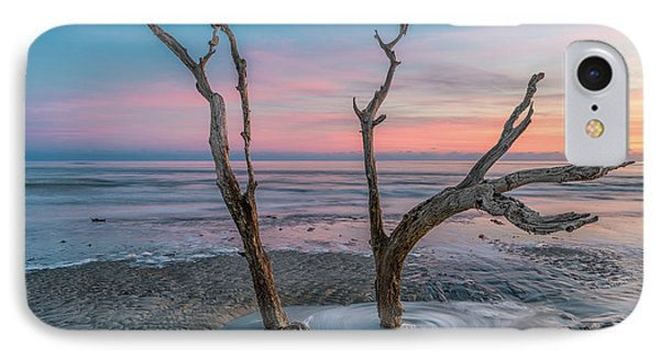 Folly Sunset Tree IPhone Case by Drew Castelhano