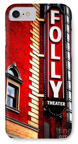 Folly Theater IPhone Case