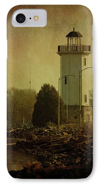 Fond Du Lac Lighthouse IPhone Case by Joel Witmeyer