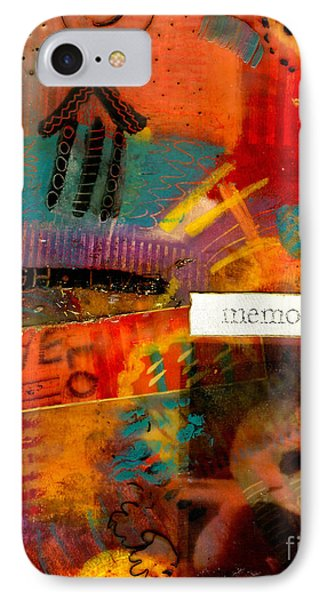 Fond Memories Phone Case by Angela L Walker