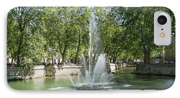 IPhone Case featuring the photograph Fontaine De Nimes by Scott Carruthers
