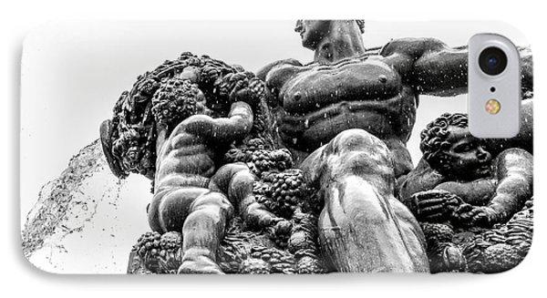 Fontana Di Piazza Solferino-1 IPhone Case