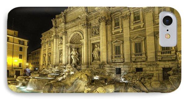 Fontana Di Trevi 1.0 IPhone Case by Yhun Suarez